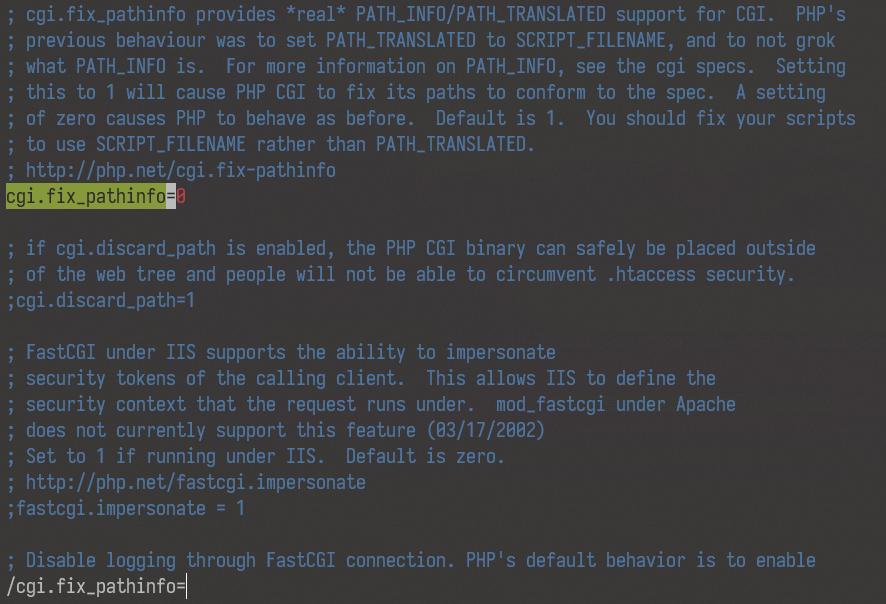 cgi.fix_pathinfo